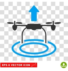 Start drone eps icon vector
