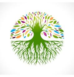 Tree logo design vector