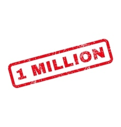 1 million text rubber stamp vector