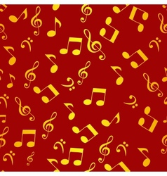 Abstract music seamless pattern background f vector