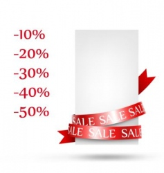 sale retail vector image