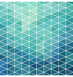 Geometric pattern with geometric shapes rhombus vector