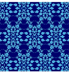 Background with seamless pattern six vector