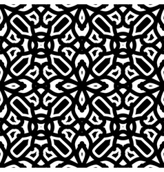 Black and white pattern vector image vector image