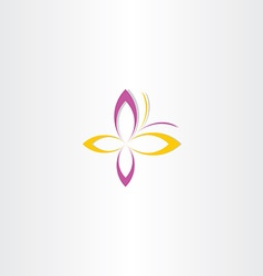 butterfly icon sign symbol vector image