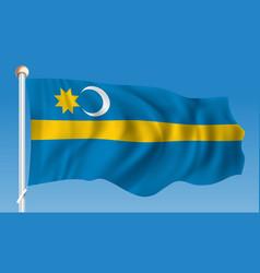 Flag of szeklerland vector