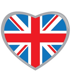 Isolated flag of The United Kingdom vector image vector image