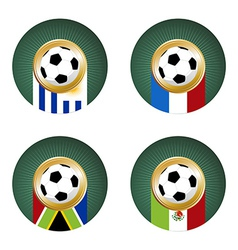 Soccer Cup team Group vector image