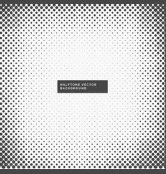 grungy halftone frame background vector image