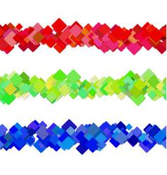 Repeatable square pattern paragraph separator vector