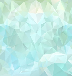 Ice blue polygonal triangular pattern background vector