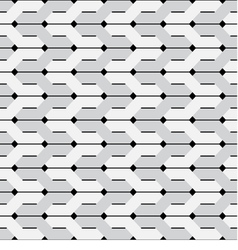Intertwined stripes seamless background vector