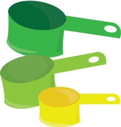 Measuring cups vector