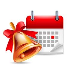 School event icon vector image
