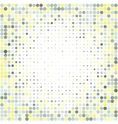 Colorful halftone backgroundHalftone dots frame vector image vector image