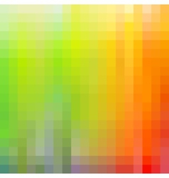 Colorful rainbow mosaic background vector image vector image