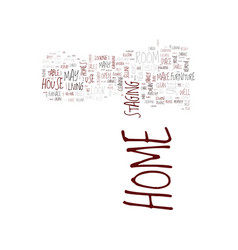 Life is a stage so is your home text background vector