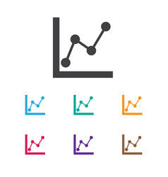 Of analytics symbol on vector