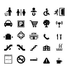 Public Icon vector image vector image