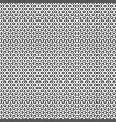 seamless geometric pattern with gray rhombuses vector image vector image