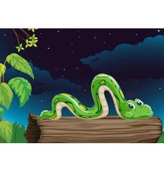 A snake vector