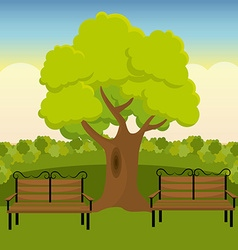 City park design vector