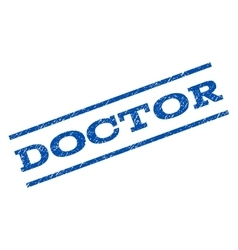 Doctor watermark stamp vector