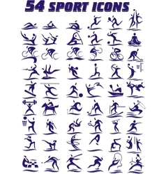 54 icons - sports in vector