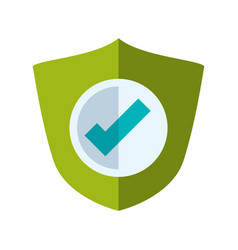 antivirus shield sign vector image