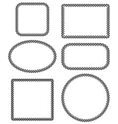 Dot frames vector