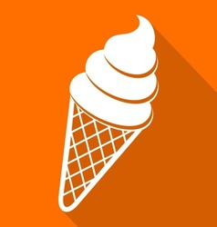Ice cream icon vector