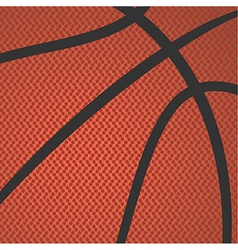 Basketball texture vector