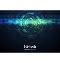 Grunge abstract technology background vector