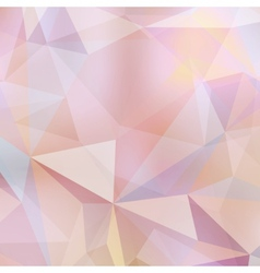 Modern and trendy geometric pattern EPS10 vector image vector image