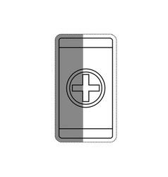 Smartphone device icon vector