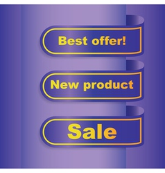 Sale banner template vector