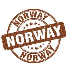 Norway stamp vector