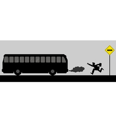 Chasing the bus vector