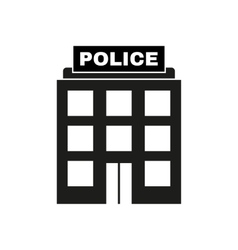 The police icon law and authority symbol flat vector