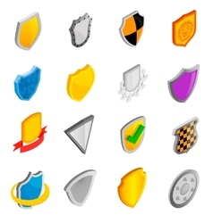 Badges set icons vector image