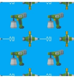 Spray mixer seamless pattern vector