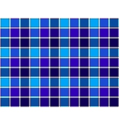Blue cyan check seamless background vector