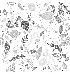 lovely autumn seamless vector image vector image