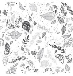 Lovely autumn seamless vector