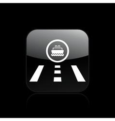 port icon vector image