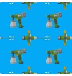 spray mixer seamless pattern vector image vector image