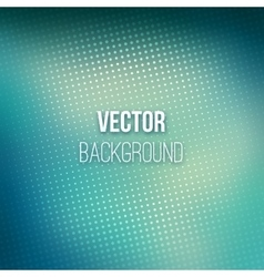 Abstract Blurred Background With Halftone Effect vector image
