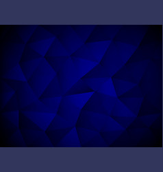 blue abstract polygon texture background vector image vector image