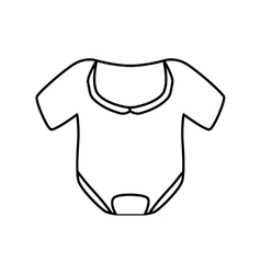 Cloth icon baby concept graphic vector