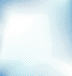 Dotted blue abstract retro background vector